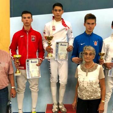 Итоги всероссийских соревнований «Аничков дворец» по шпаге