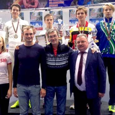 Три медали петербургских рапиристов из Ярославля