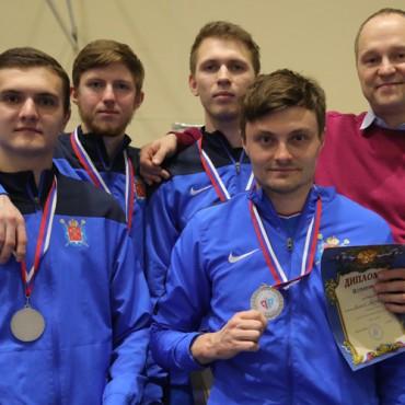 Петербургские рапиристы — серебряные призеры Кубка России