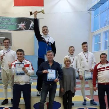 Золотая медаль турнира «Надежды России»