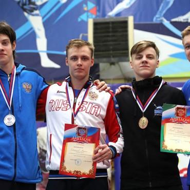 Три медали в первый день Первенства России