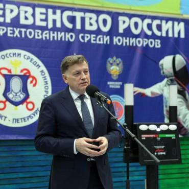 Стартовали соревнования Первенства России по фехтованию среди юниоров до 21 года