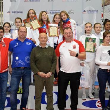 Бронзовые медали саблистов на детском Первенстве России