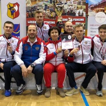 Бронзовая медаль из Польши
