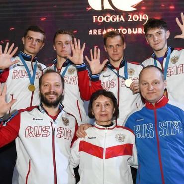 Рапиристы-юниоры — чемпионы Европы