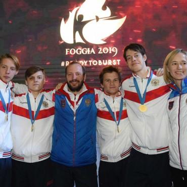 Восемь наград петербургской сборной