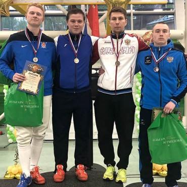 Серебряная медаль молодежного Первенства России