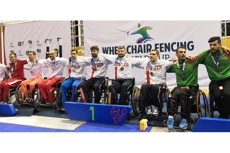 Петербуржец Роман Федяев – победитель этапа Кубка мира по паралимпийскому фехтованию