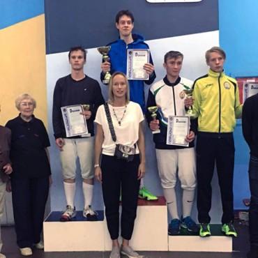 Итоги всероссийских соревнований «Аничков дворец» по рапире