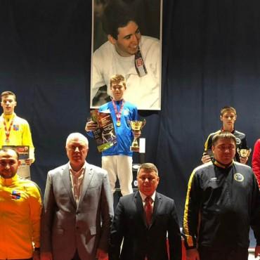 Шпажисты выиграли золото и бронзу международного турнира