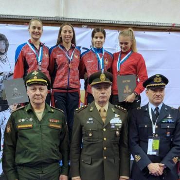 Золотая медаль Чемпионата мира среди военных