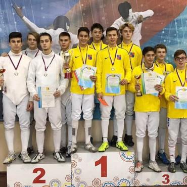 Три медали на турнире шпажистов в Кирове