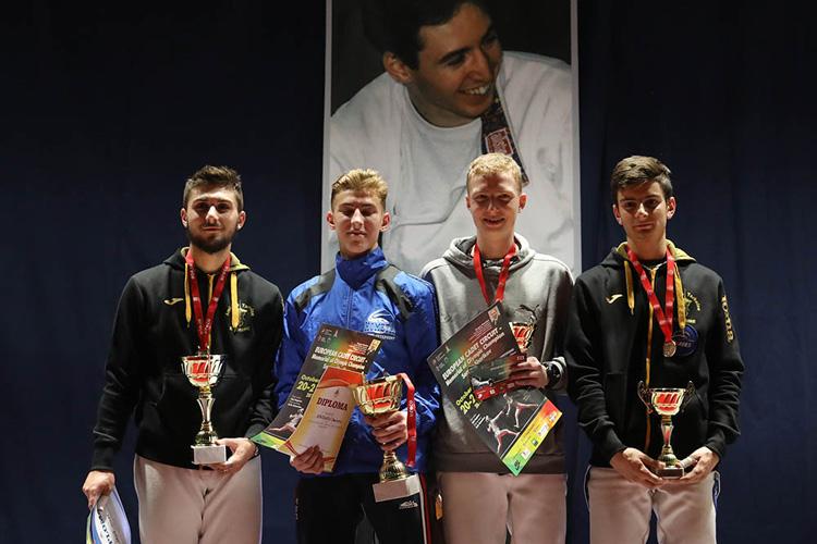 Саблист Дмитрий Насонов стал первым на турнире памяти двукратного олимпийского чемпиона Сергея Шарикова