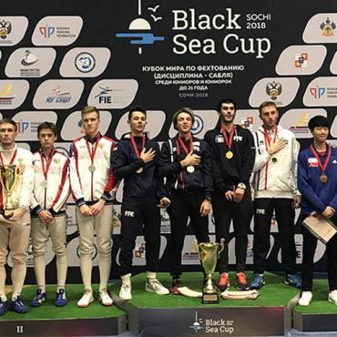 Серебро Кубка мира среди юниоров