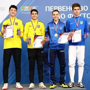 Бронзовая медаль Первенства России среди кадетов