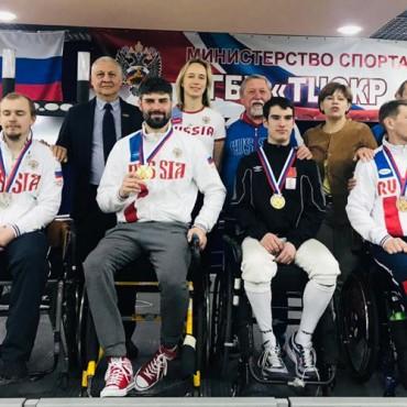 Успешное выступление паралимпийских фехтовальщиков на ЧР-2019!
