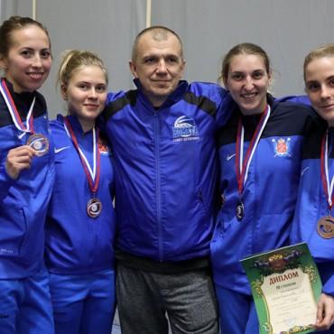 Саблистки — третьи на Чемпионате России