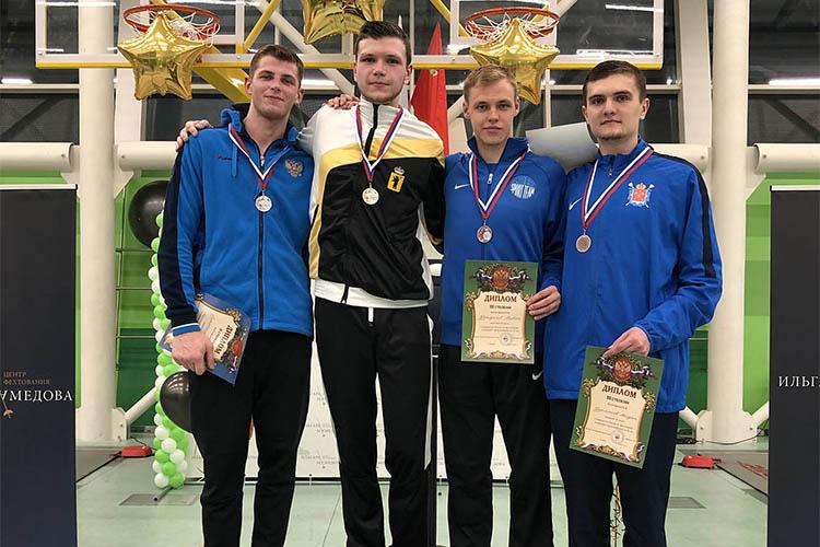 Бронза молодежного Первенства России