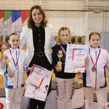 Медали из Москвы