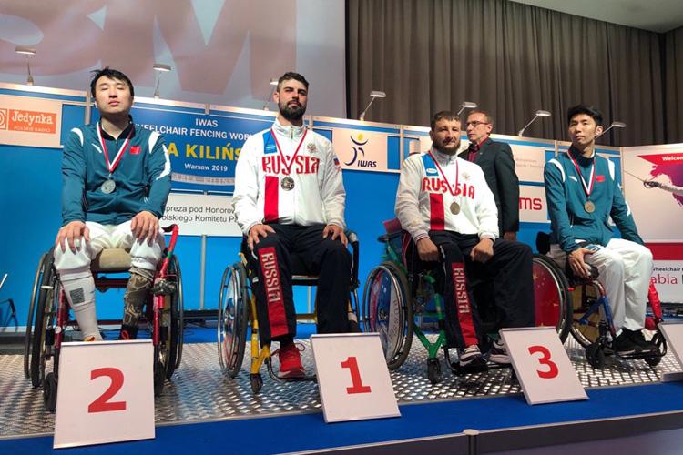 Золото и бронза петербургского паралимпийца