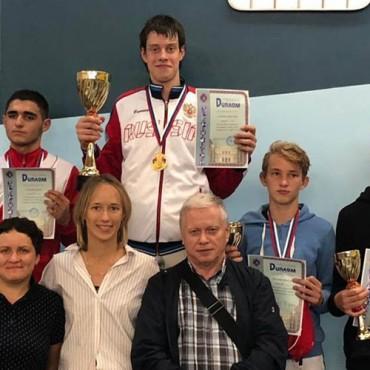 Успешный старт фехтовального сезона в Санкт-Петербурге