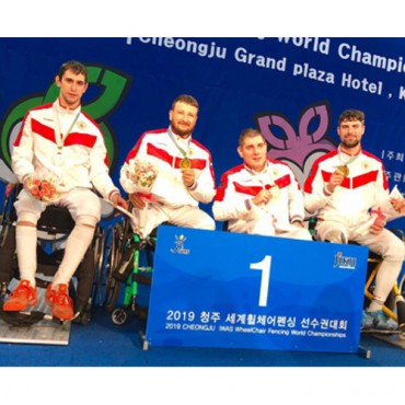 Две медали петербуржца-паралимпийца