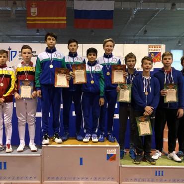 Третье место сборной команды по рапире на Первенства России