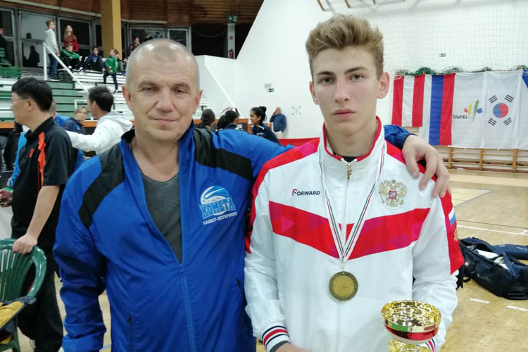 Победа Дмитрия Насонова на турнире Европейского кадетского цикла