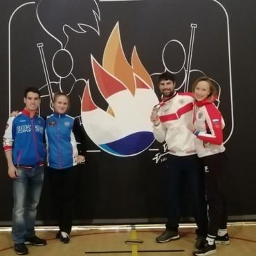 Роман Федяев – призер Кубка мира по паралимпийскому фехтованию