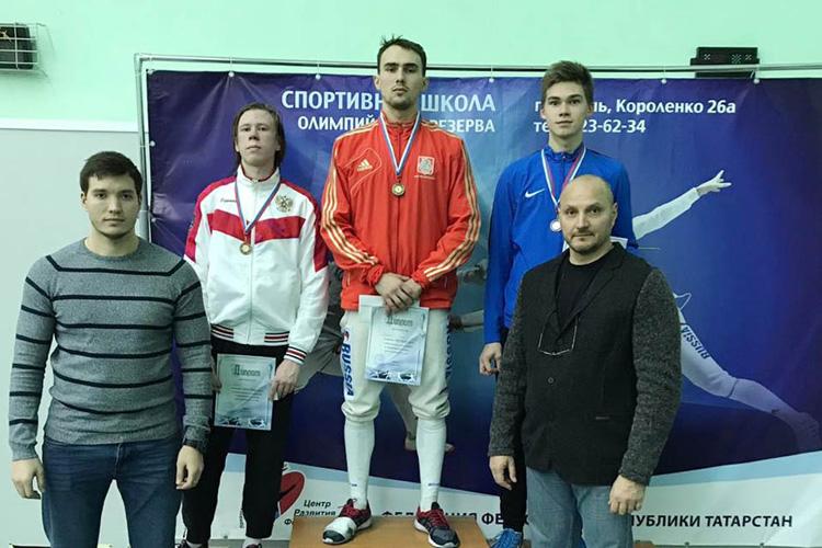 Серебряная медаль из Казани