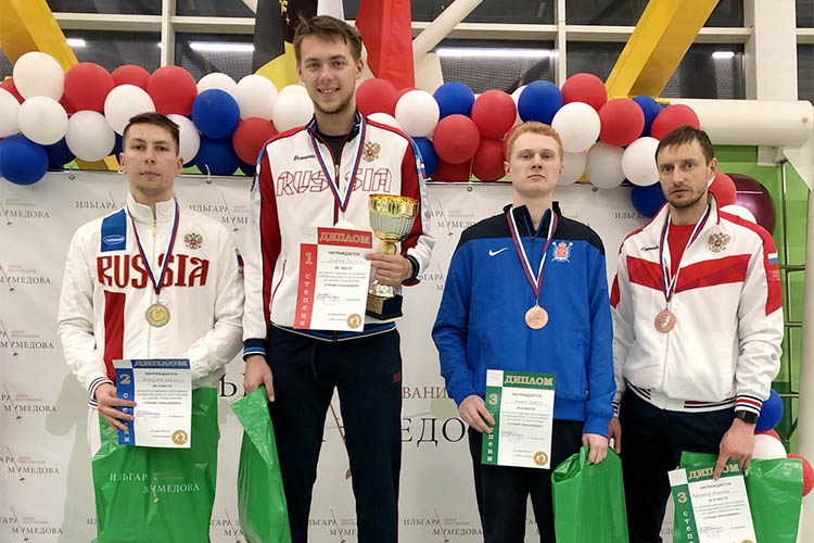 Бронзовая медаль всероссийского турнира в Новогорске