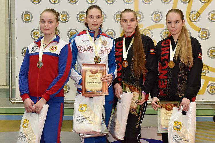 Первенство России-2020: две медали в первый день