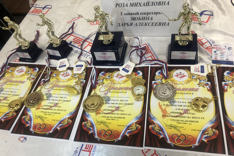 Прошел крупнейший детский турнир в Санкт-Петербурге