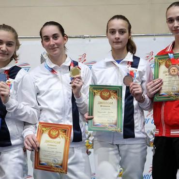 Первенство России среди кадетов: петербургская рапира