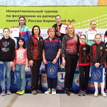 Курские медали рапиристов