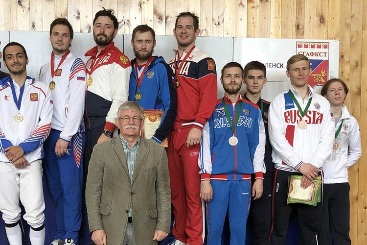 Бронзовые медали из Смоленска