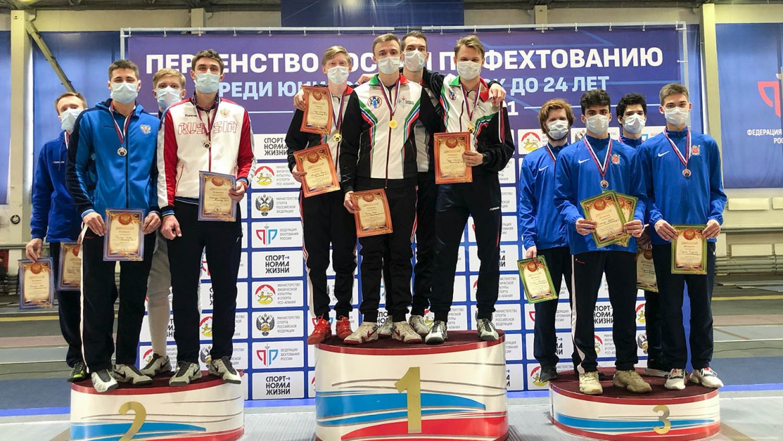 Бронза Первенства России среди молодёжи