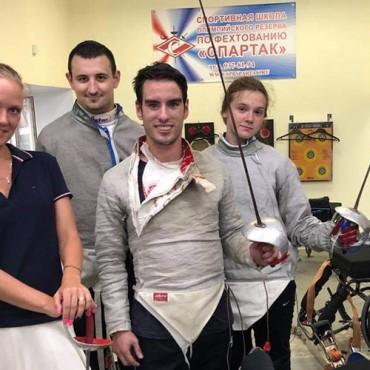 Петербургские спортсмены едут на чемпионат мира по паралимпийскому фехтованию