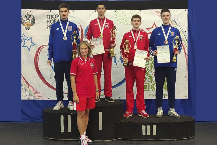 Первые медали Спартакиады молодежи
