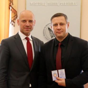 В Северной столице вручены награды Министерства спорта России
